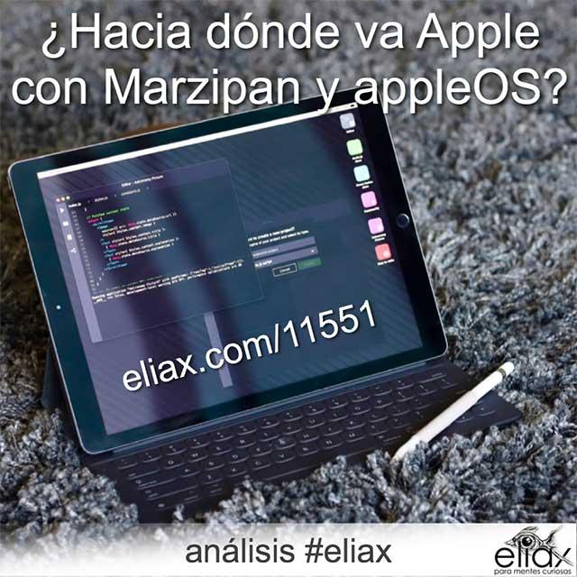Análisis #eliax Marzipan appleOS