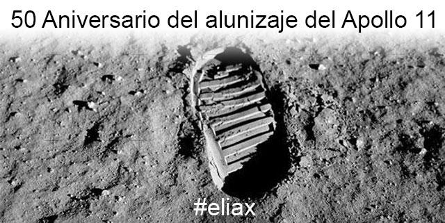 #eliax 50 aniversario Apollo 11