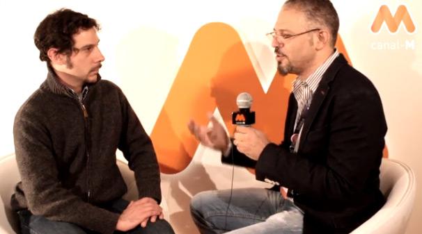 Entrevista de Canal-M a José Elías de eliax.com